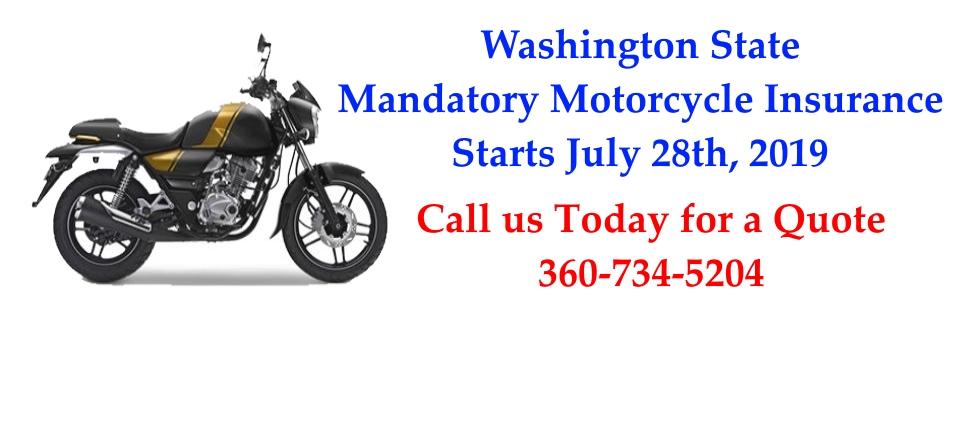 Mandatory Motorcycle Insurance
